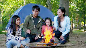 family camp fire 2