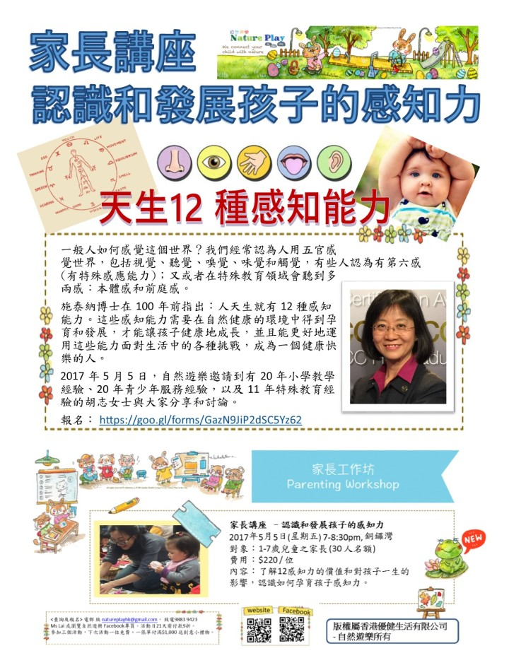 Parent workshop 5 May